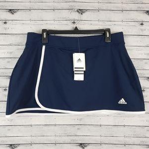 Adidas Blue Galaxy Tennis/Golf Skort Sz L NWT